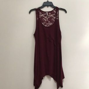 Wallflower Dress w lace upper sz XL